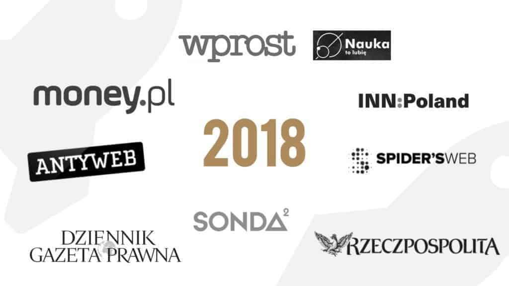 Noworoczne życzenia od mediów dla startupów na 2018 rok